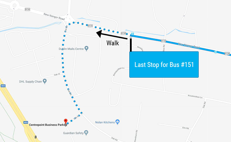 Bus route to Sherlock Recruitment